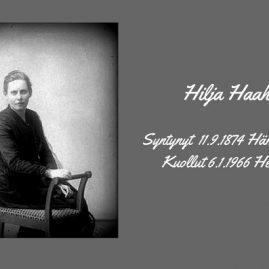 Hilja Haahti